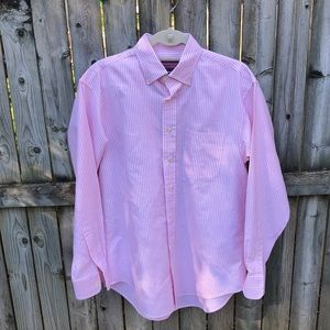Vineyard Vines Murray Shirt pink white EUC M